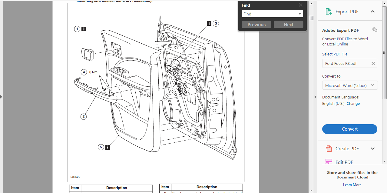 Official Workshop Service Repair Manual For Ford Focus