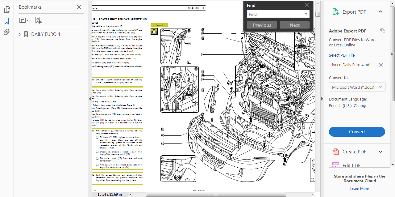 Official Workshop Service Repair Manual For Iveco Daily