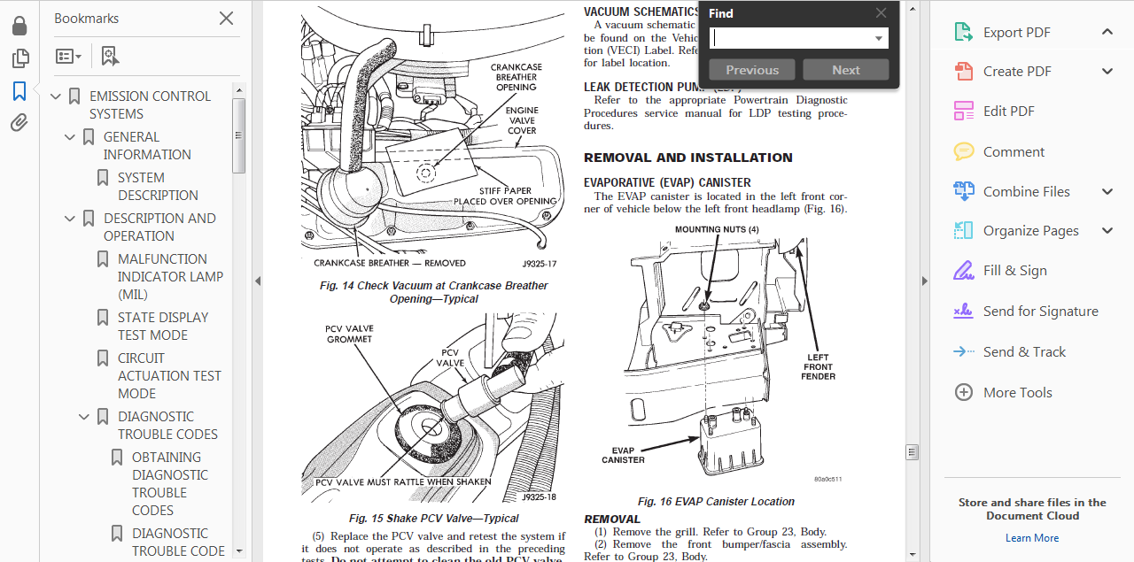 Official Workshop Service Repair Manual For Jeep Grand Cherokee Zj 1992
