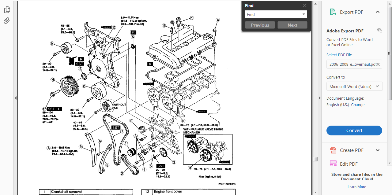 Official Workshop Service Repair Manual For Mazda Mx5