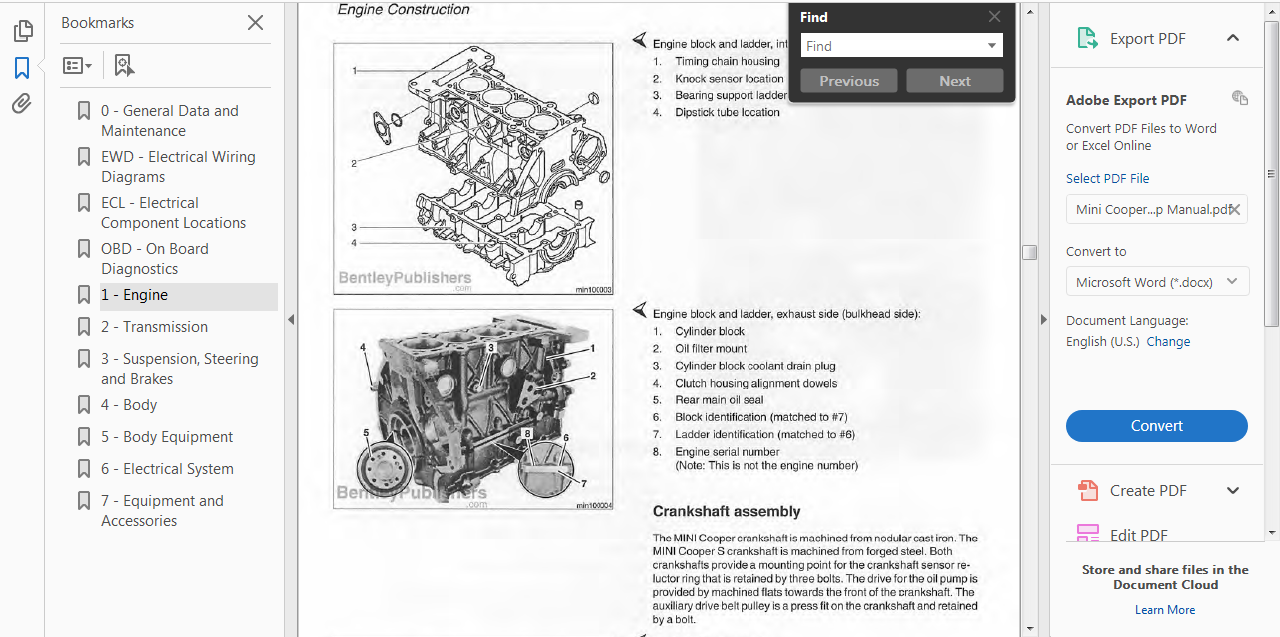 Official Workshop Repair Manual For Mini Cooper S Convertible 2002 As Well Wiring Diagram Further Get More About