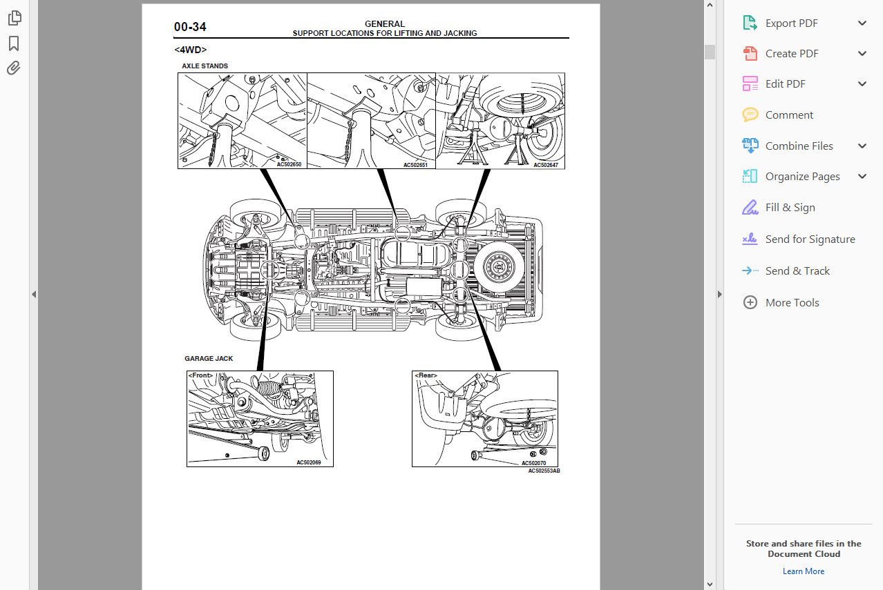 Official Workshop Service Repair Manual For Mitsubishi