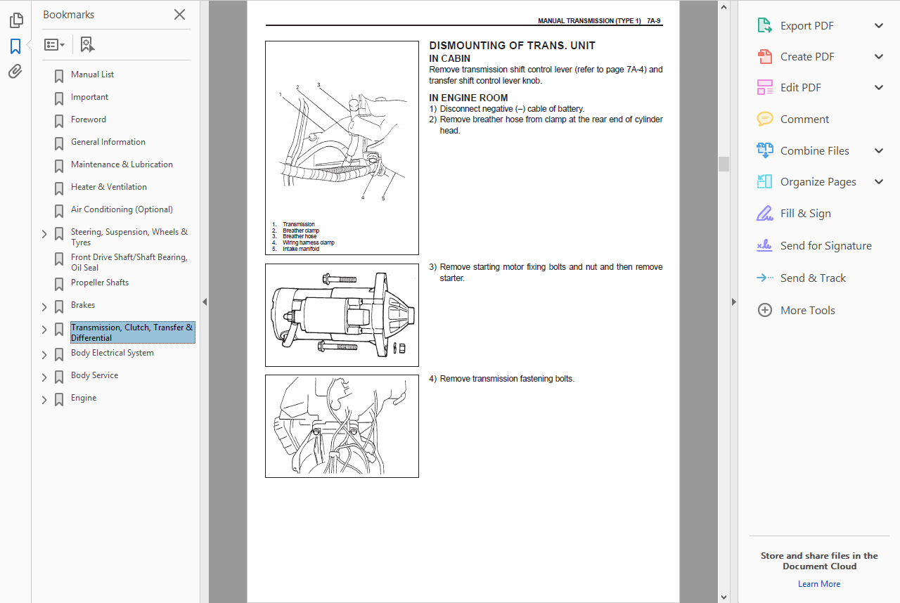 Screenshots form the manual