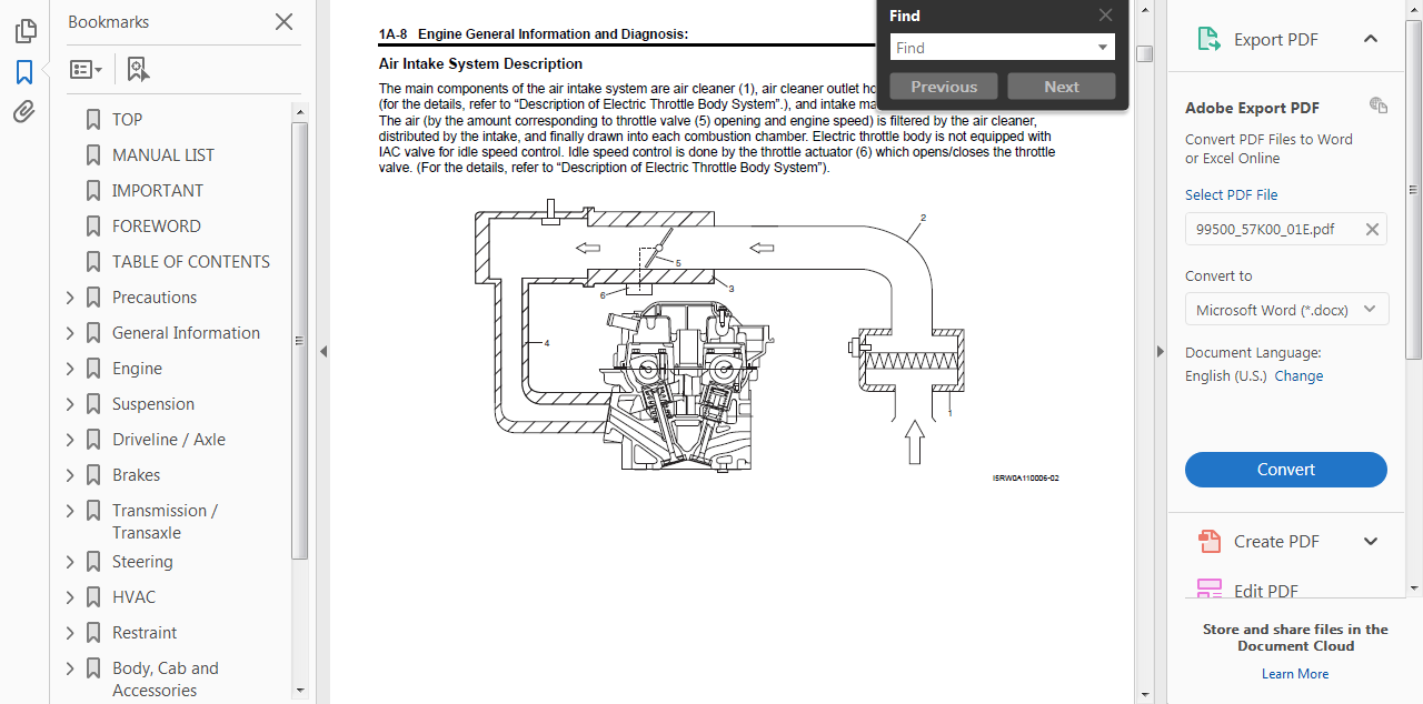 official workshop repair manual for suzuki swift ii 2005