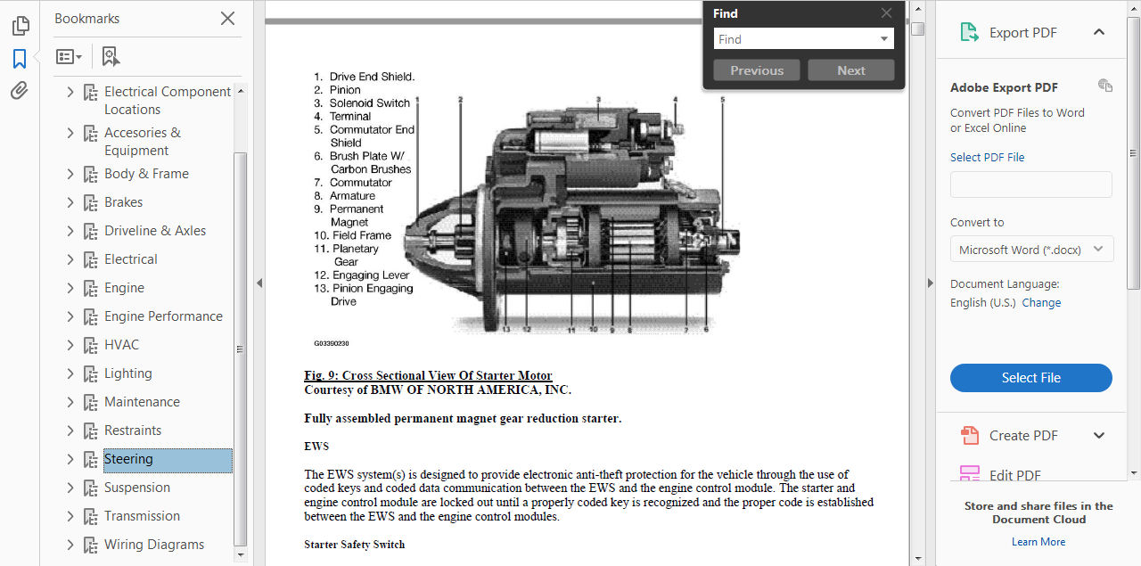 Official Workshop Repair Manual For Bmw Series Z4 E89 2009 2012 E36 Ews Wiring Diagram Not Sure Why From Us Get More About
